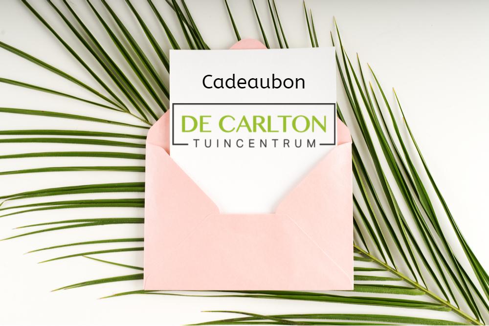 Tuin- en cadeaubonnen - De Carlton